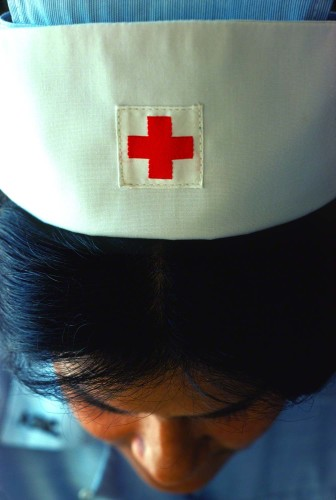 Shot for the American Red Cross Annual Report.