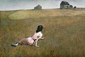 Christina's World by Andrew Wyeth.