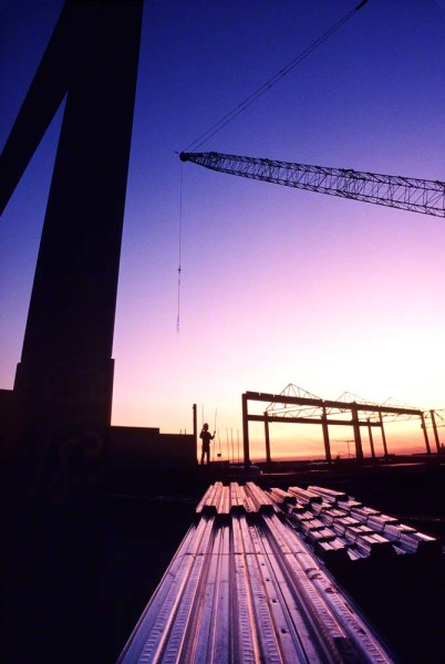silhouetteofconstructionmanonsite