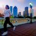 woman running on bridge thumbnail