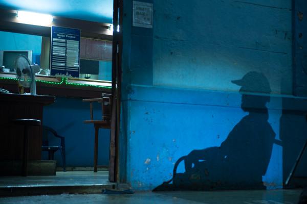 Cuba Man Shadow 2