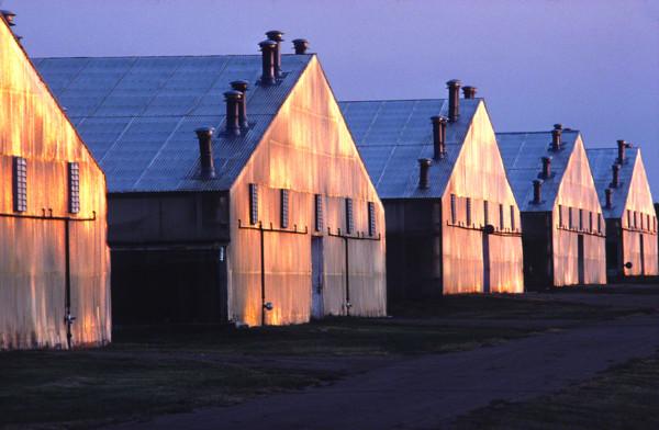 row of greenhousesDM